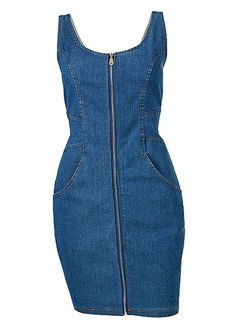 Shop sexy club dresses, jeans, shoes, bodysuits, skirts and more. Ugly Dresses, Casual Dresses, Fashion Dresses, Denim Crop Top, Formal Dress Shops, Fashion Vocabulary, African Attire, Fashion Books, Jeans Dress