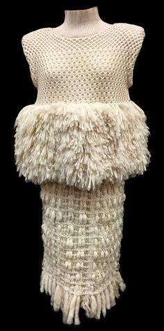 Hee Soo Lee, Look 1 knitGrandeur: FIT Future of Fashion Judging Day 2015 - Knitwear Part One