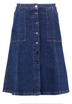 SET Jeansrock dark blue deinim Premium bei Zalando.de | Material Oberstoff: 98% Baumwolle, 2% Elasthan | Premium jetzt versandkostenfrei bei Zalando.de bestellen!