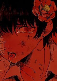 Dark abused anime boy Guro