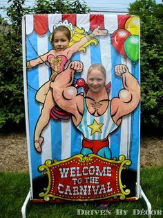 A Carnival / Circus Themed Birthday Party - Driven by Decor