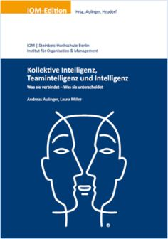 Im März 2014 ist das erste Buch der IOM-Edition erschienen. In diesem Buch geht es um die wichtigen Unterschiede und die wichtigen Gemeinsamkeiten von kollektiver Intelligenz, Teamintelligenz und Intelligenz. An dieser Stelle bieten wir zu diesem Buch einige Inhalte als Download an. Außerdem laden wir unsere Leserinnen und Leser zu Kommentaren und zur Diskussion unserer Ideen ein.