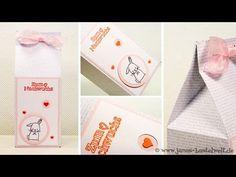 Tutorial: Milchtüte mit dem Punch Board für Geschenktüten
