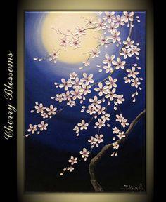 Original Modern Impasto Art Painting on Gallery by TMKGallery, $225.00
