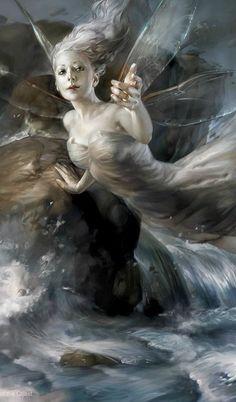 LOVE this one! ~ ALW ~ Wind Dancer by sheppardarts on DeviantArt (detail)