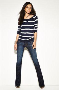 Splendid Pullover & Hudson Jeans Bootcut Jeans | Nordstrom