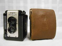 Argus Argoflex Seventy-Five TLR Box Vintage Camera w/strap $0.98 ONLY 5 HOURS LEFT