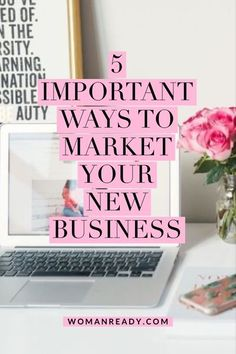 Starting a new business? Here are 5 things you must do to market your new business. #business #marketing #marketingonline #entrepreneur Digital Marketing Strategy, Sales And Marketing, Business Marketing, Online Marketing, Sales Strategy, Marketing Ideas, Content Marketing, Business Planning, Business Tips