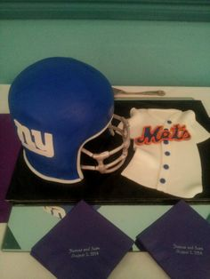 Football/baseball grooms cake  Loloscakesandsweets@gmail.com