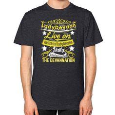 Devannation Unisex T-Shirt (on man)