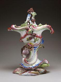 Potpourri Vase, about 1755, Jacques Chapelle. J. Paul Getty Museum.