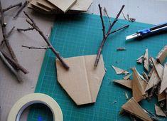 Christmas Crafts For Kids, Summer Crafts, Holiday Crafts, Paper Flowers Craft, Flower Crafts, Paper Crafts, Crafts To Make, Diy Crafts, Paper Mache Animals