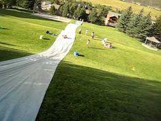slip and slide :)