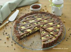 Crostata al cacao con ricotta e gocce di cioccolato