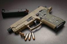 Sig Sauer P229 Scorpion pistol