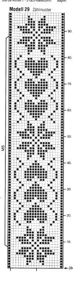 Cross stitch chart for a bookmark Filet Crochet Charts, Crochet Diagram, Knitting Charts, Crochet Stitches, Knitting Patterns, Crochet Patterns, Cross Stitch Bookmarks, Crochet Bookmarks, Cross Stitch Borders