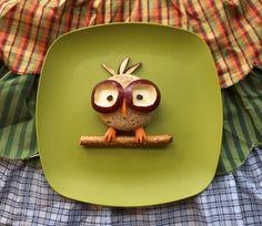 Nerdy Owl Snack
