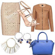 Elegante e stiloso, colori caldi e intensi per un aperitivo in città o una serata tra amiche. L'oro e il sandalo gioiello elegante con tacco a spillo...un evergreen.