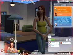 INTEEN for SIMS 4 – teen pregnancy and marriage etc