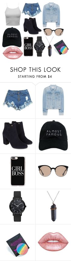"""""""Festival day ;)"""" by immig2003 on Polyvore featuring rag & bone, Monsoon, Nasaseasons, Casetify, Balenciaga, Devinah Cosmetics and Lime Crime"""