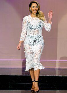 Ladies and Gentleman, the LOVELY Kim Kardashian!!! #KimKardashian #kardashian #lovely #thejaylenoshow #fashion