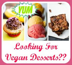 Find thousands of vegan desserts in a flash! #dessert #vegan