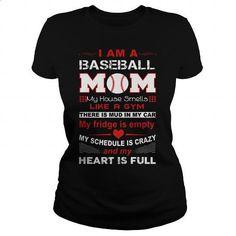 baseball mom - #hoodies for women #hoodie sweatshirts. PURCHASE NOW => https://www.sunfrog.com/Funny/baseball-mom-148048590-Black-Ladies.html?id=60505