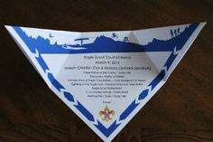 Eagle * Scout Award Invitation or Eagle Scout Award Program Printable Idea that looks like a Scout Neckerchief for their Court of Honor. This site has a lot of great Cub Scout Ideas compliments of Akela's Council Cub Scout Leader Training: Utah National Parks Council has planned this exciting 4 1/2 day Cub Scout Leader Training. This fast-paced and inspiring training covers lots of Cub Scout Info and Webelos Outdoor Experience, and much more. Any Cub Scout Leader from any council is ...