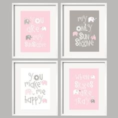 custom-nursery-decor-wall-art-canvas-prints-for-by-yassisplace-girl-elephant-you-are-my-sunshine-pink-grey-baby-gray-gift-ideas-girls-room_baby-girl-room-decor_baby-nursery_nursery-ideas-baby-furnitur_797x797.jpg (797×797)