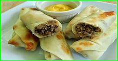 weight watchers recipes: weight watchers best recipes | Bacon cheeseburger rolls Only 3 points plus each and satisfyingly filling.