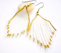 Hey, I found this really awesome Etsy listing at https://www.etsy.com/listing/270419905/long-fringe-seed-bead-earrings-for-girl