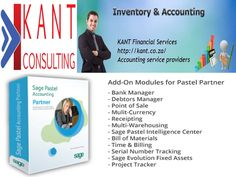 """""""Sage Pastel Partner or Sage Partner is software suit for all accounting problems of small and medium sized business enable you to track and manage accounting work. Accounting Services, Pastel Accounting, Bill Of Materials, Point Of Sale, Sage, Track, Management, Medium, Salvia"""