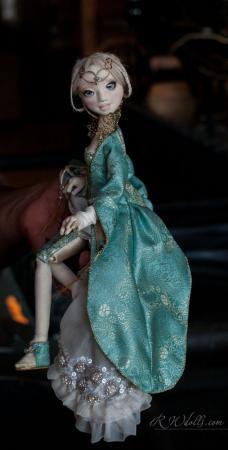 Princesse Millicent | Romantic Wonders Dolls - https://www.facebook.com/pages/Romantic-Wonders/211821288876263