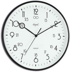 "12.2"" Military Time Analogue Wall Clock"