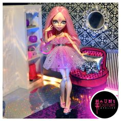 Monster High If Looks Could Kill Viperine by HauntCoutureAtelier, $15.00