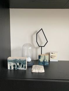 Kunstwerken van o.a. Barbara van Marle Floating Nightstand, Van, Table, Furniture, Home Decor, Floating Headboard, Decoration Home, Room Decor, Tables