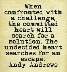 A committed heart