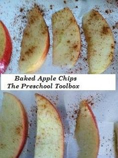Homemade #Apple Chips #Recipes for #Kids