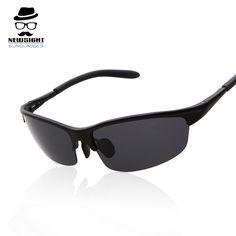 d5d76022c9fa6 Hot Sale Men Polarized Sunglasses Fashion Driving Sun Glasses Half Frame  Sunglass Oculos De Sol Masculino