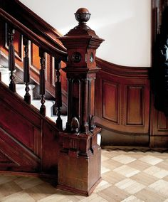 It's My Dream Home Except For One Problem- The Wood Trim - laurel home Paint Stained Wood, Stained Wood Trim, Painting Wood Trim, Victorian Farmhouse, Victorian Homes, Molding Ceiling, Moldings, Wood Staircase, Staircases