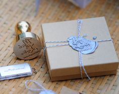 Sealing Wax & Custom Stamper - Digital File packaging!