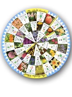 164Google +0 Bulb Garden Wheel [610fb] $9.00    Click to enlarge The Bulb Garden Wheel presents complex information in an easy-to-use format...