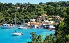 Paxos is only seven miles by three, so it is entirely possible to explore each and every corner by foot, bike, car or boat. Greece Holiday, Corfu, Remote, To Go, Boat, River, Explore, Architecture, Outdoor