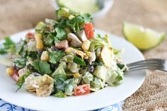 Southwest Chicken Chopped Salad | Tasty Kitchen: THIS is right up my alley...kids can have pizza. I'm having this!!