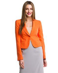 Giorgio Armani Orange Tailored Jacket