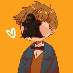 Newt Scamander Harry Potter Fantastic beasts and where to find them Fanart Harry Potter, Cute Harry Potter, Harry Potter Drawings, Harry Potter Universal, Harry Potter Fandom, Hogwarts, Newt Scamander Harry Potter, Film Manga, Desenhos Harry Potter