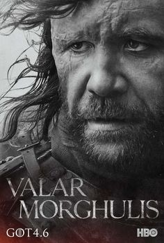 "The Hound | Community Post: These New ""Game Of Thrones"" Posters Will Give You A Sense Of Foreboding"