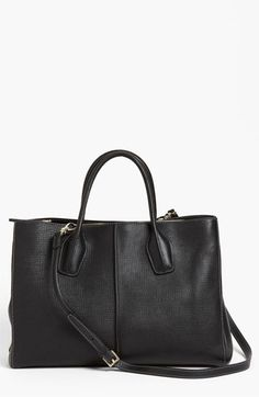 Tod's 'D-Styling - Medium' Leather Shopper Leather. Made in Italy. $1,595