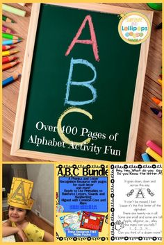 This ABC Resource is every kindergarten teacher's DREAM...I wish I had it for my classroom. It is over 400 pages of alphabet and phonics activities that will engage your kinders and motivate them to learn their letters.  I especially like the original chants that are included!