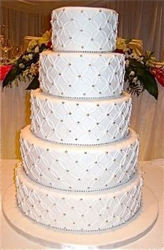 Simple Wedding Cake Design